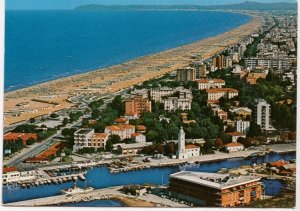 RIMINI, Veduta aerea, Aerial view, used Postcard