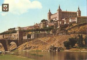 Postal 048751 : Toledo. Vista del Alcazar