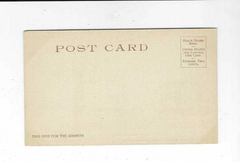 Vintage postcard, Public Square, Portsmith, N.H.