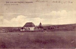 CHURCH KYRKA SOUFJALLET PARKHEDEVIKEN SWEDEN 1907