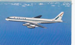 UNITED Airlines DC-8 Jet Mainliner in Flight
