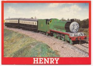Thomas The Tank Engine & Friends Postcard, Unposted- Henry Is Proud Of His Paint
