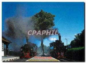 Postcard Modern Harz Narrow Gauge Railways
