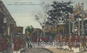 Vietnam, Viet Nam,  Nhân Vật Annam Gardes Royaux attendant le Passage du roi