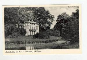 Aschaffenburg , Germany, 40-50s, Schonbusch, Schlosschen