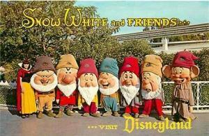 CA, Anaheim, California, Disneyland, Snow White and Seven Dwarfs, DT-35922-C