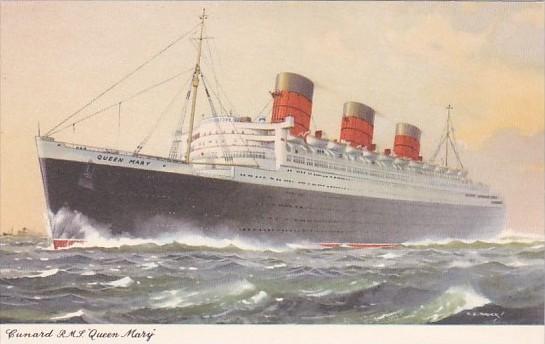 Cunard Line R M S Queen Mary