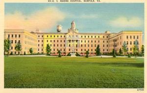 VA - Norfolk, U. S. Marine Hospital