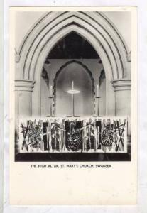 RP; The High Altar, St. Mary's Church, Swansea, Wales, United Kingdom, 10-20s