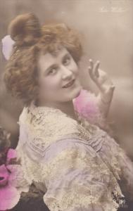 RP: [Tinted] , Reta Walter #3 , 1900-10s