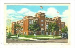 Clearfield High School, Clearfield, Pennsylvania, 1910s
