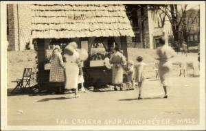 Winchester MA Enka Street Fair - Real Photo Postcard #10