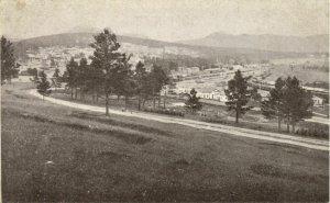 russia, ZLATOUST Златоуст, Panorama (1910s) Postcard
