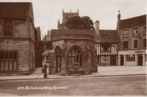 RP: SHERBORNE , England , 1910s ; The Conduit & Abbey