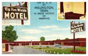 Tennessee  Memphis  Rip van Winkle Motel