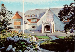 Government House Victoria BC c1975 Vintage Postcard F44