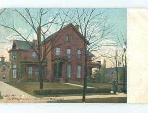 Divided-Back HISTORIC HOME Buffalo New York NY hJ4974