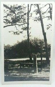Vintage Rp Postcard The Stocks at  Ninfield Real Photo