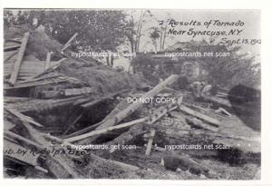 Tornado near Syracuse NY, Sept 15th 1912, #2