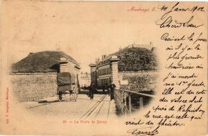 CPA MAUBEUGE le.- La porte de bavay  (194391)
