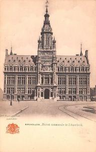 Bruxelles Belgium, Belgique, Belgie, Belgien Maison communale de Schaerbeek B...