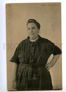 147469 FRANCE DAX native woman Vintage postcard