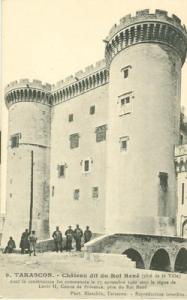 France, Tarascon, Chateau dit du Roi Rene, early 1900s un...