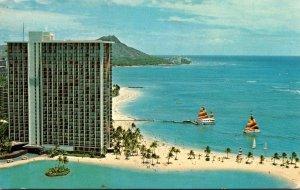 Hawaii Honolulu Hilton Hawaiian Village 1976