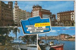 Postal 008219: Vistas de El Ferrol del Caudillo