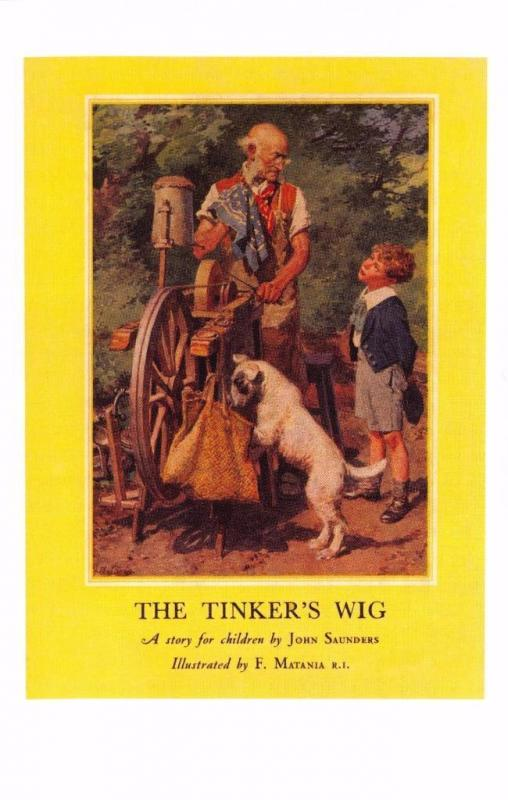 Postcard The Tinker's Wig (1947) Series 478 Ladybird Book Cover