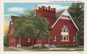 Illinois Mount Vernon First Baptist Church