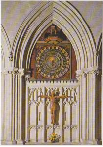 WELLS CATHEDRAL, 14TH CENTURY ASTRONOMICAL CLOCK