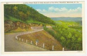 Looking Down Route 21 From Summit Of East River Mountain, Bluefield, West Vir...