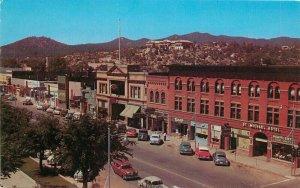 Autos Historical St Michael's Hotel Prescott Arizona Postcard Bradshaw 9084