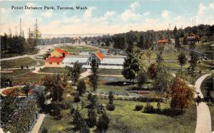 TACOMA WASHINGTON POINT DEFIANCE PARK POSTCARD 1910s