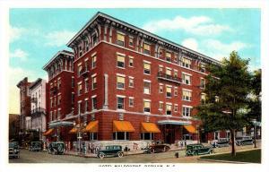North Carolina  Durham  , Hotel Malbourne
