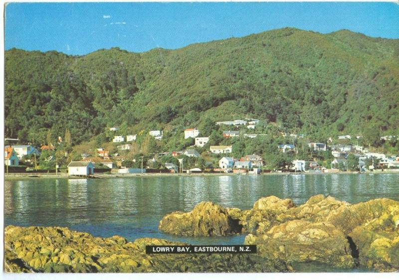 New Zealand, Lower Bay, Eastbourne, used Postcard