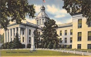 Tallahassee Florida~State Capitol~1956 Postcard