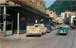 Juneau Alaska~George's Gift Shop~Miller Beer~Gastineau Hotel~1960s Ford Pick Up