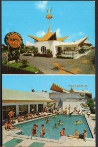 Florida HALLANDALE BEACH Moongate Resort Motel Route A1A - 1920 S Ocean Dr - C