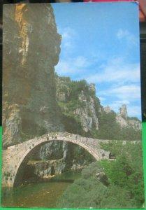 Greece Ioannina Kokoris Bridge on Voidomatis River - posted 1991