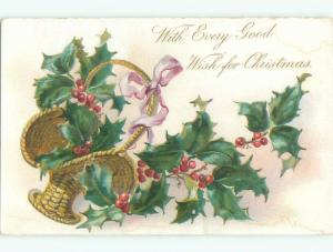 Divided-Back CHRISTMAS SCENE Great Postcard W8808