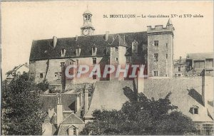 Old Postcard Montlucon Le Vieux Chateau XV and XVI
