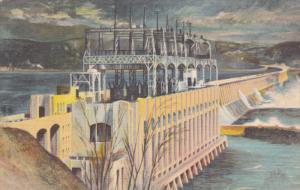 CONOWINGO Hydro-Electric Developement [dam] , Susquehenna River , Pennsylvani...