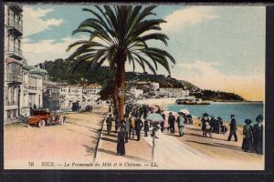 La Promenade du Midi et le Chateau,Nice,France BIN