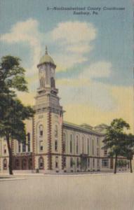 Pennsylvania Sunbury Northumberland County Court House Curteich