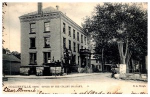 Connecticut  Collinsville , office of The Collins Company