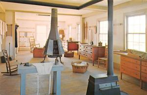 Shaker Postcards Old Vintage Antique Post Cards View of sisters Ironing Room ...