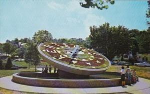 Kentucky Frankfort Floral Clock Capitol Grounds