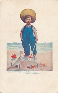 Young America a/s Bernhardt Wall copyright 1905 by Ullman Co. - DB